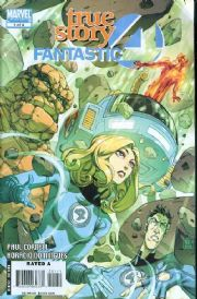 Fantastic Four True Story #1 (2008) Paul Cornell Marvel comic book